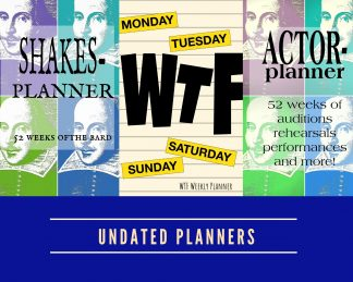 Undated Planners